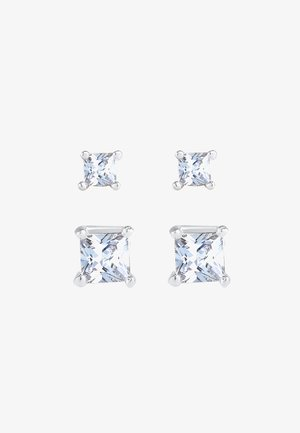 2 PACK CLASSIC - Earrings - silber
