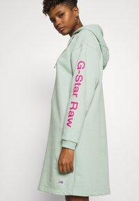 G-Star - SCOLLA - Denní šaty - freeze green - 6