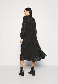 Cream - CRJELENA DRESS 2-IN-1 - Shirt dress - pitch black - 2