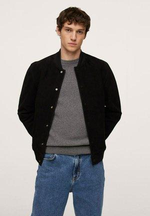 DRACO-I - Leather jacket - schwarz