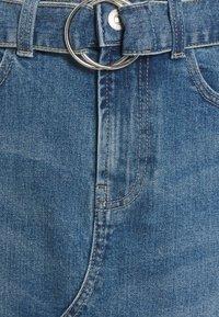Pieces - PCGERA DESTROY SKIRT - Minijupe - medium blue denim - 2