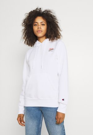 HOODED - Sweatshirt - white