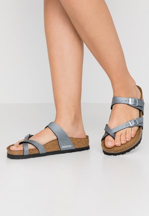 MAYARI - Slippers - icy metallic anthracite