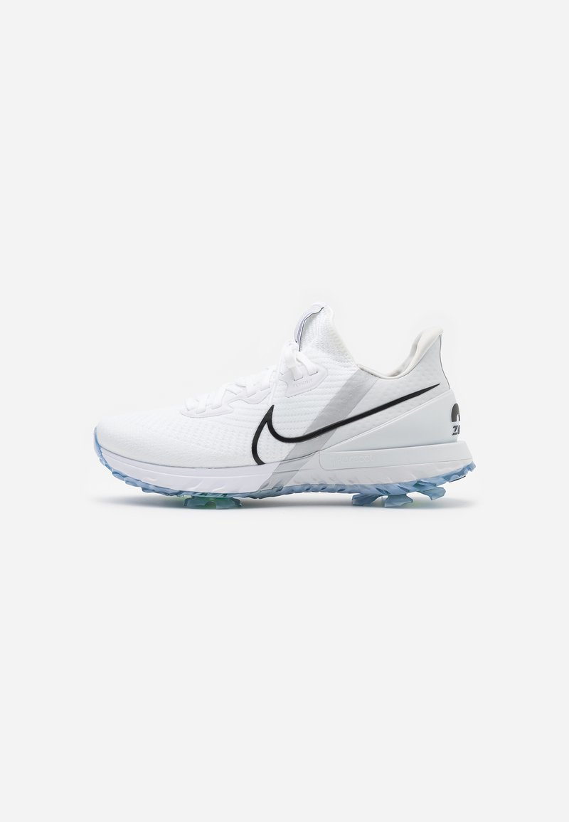 Nike Golf - AIR ZOOM INFINITY TOUR - Golfové boty - white/black/photon dust/metallic platinum