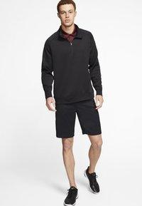 Nike Golf - DRY PLAYER HALF ZIP - Mikina - black - 1