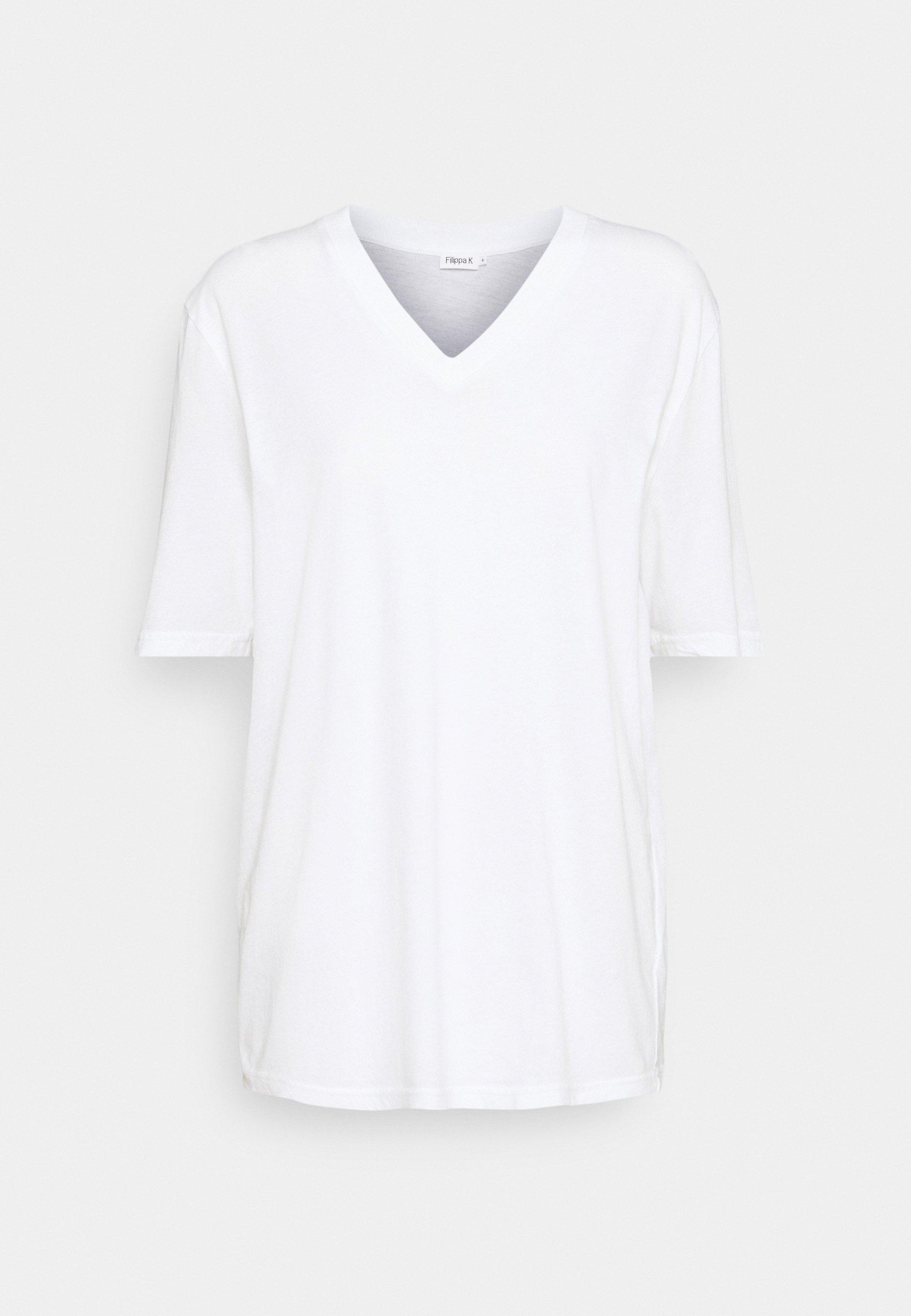Donna MATILDA VNECK TEE - T-shirt basic