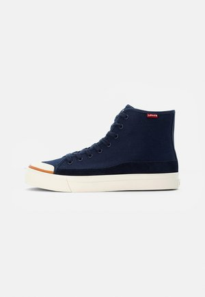 SQUARE  - High-top trainers - navy blue