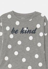 Name it - NKFVALTINE - Long sleeved top - grey melange - 2