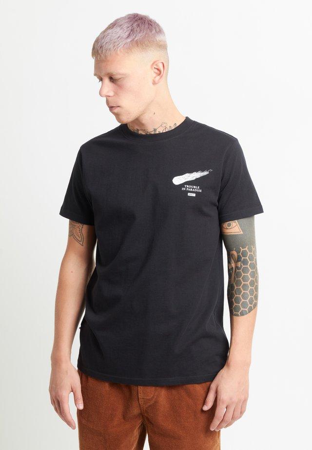 DINOSAUR TEE - Print T-shirt - black