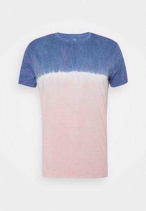 CREW TIE DYE - T-shirt z nadrukiem - pink