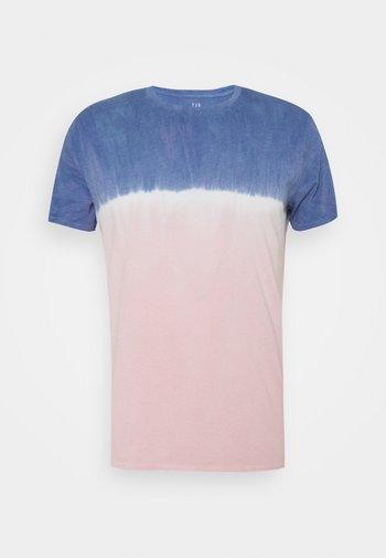CREW TIE DYE - Print T-shirt - pink