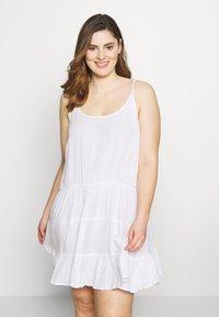 Simply Be - VALUE BEACH DRESSES  2 PACK  - Doplňky na pláž - white/black - 1