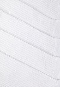 Pier One - 5 PACK - Socks - white - 1