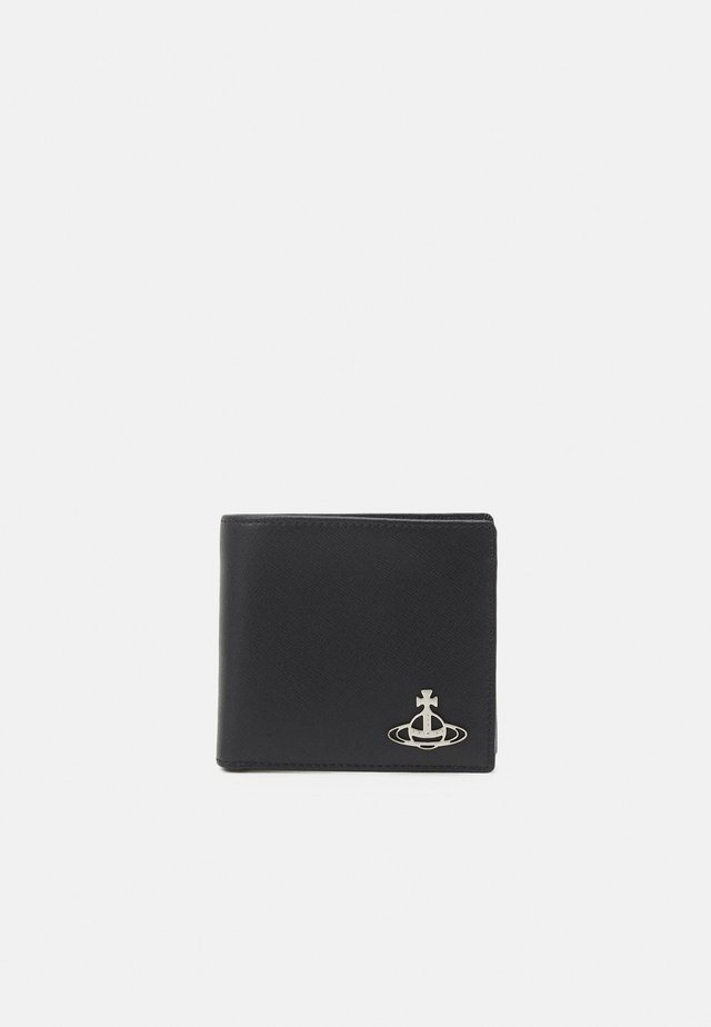 KENTMAN WALLET WITH COIN POCKET UNISEX - Monedero - black