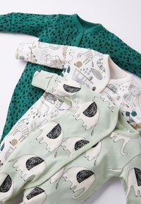 Next - 3 PIECE PACK ELEPHANT  - Sleep suit - green - 6