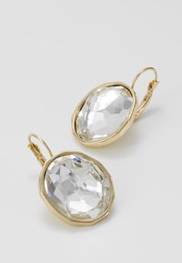 SNÖ of Sweden - NOCTURNE PENDANT EAR CLEAR - Earrings - gold-coloured - 4