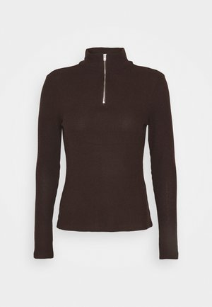 VMTAMMI ZIP - Jumper - chocolate plum