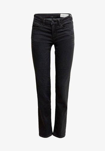 Slim fit jeans - black dark washed
