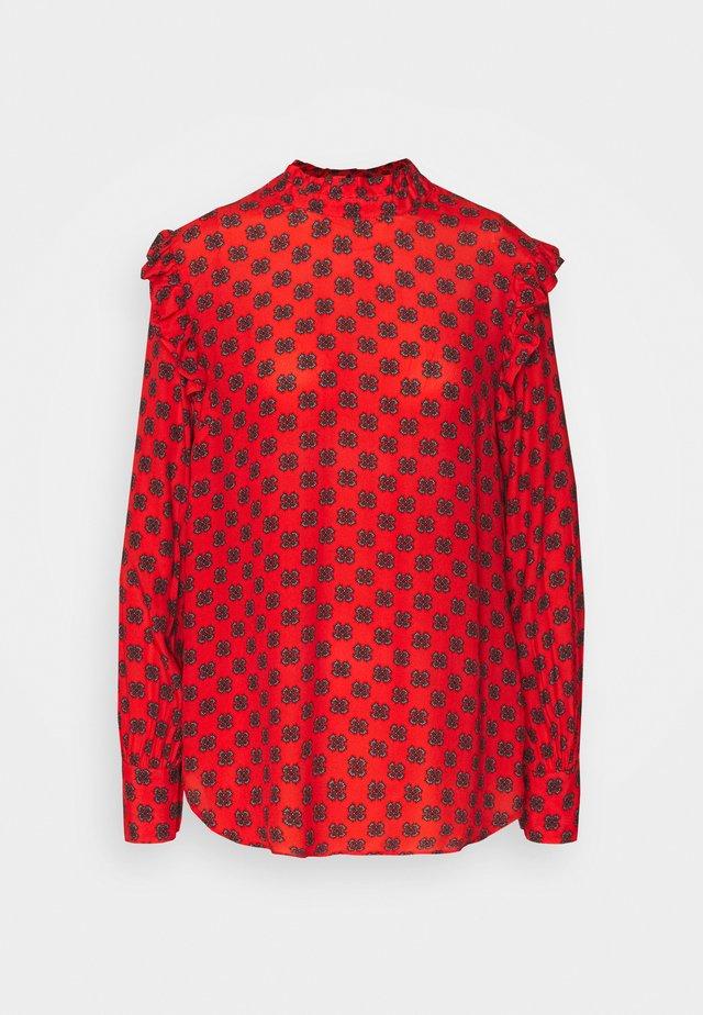 BRICK - Långärmad tröja - fire red