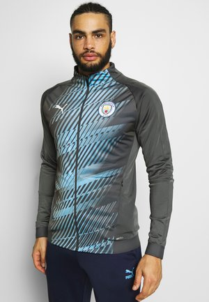 MANCHESTER CITY STADIUM LEAGUE JACKET - Article de supporter - asphalt/team light blue