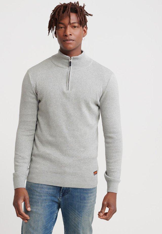 DOWNHILL RACER - Stickad tröja - light grey