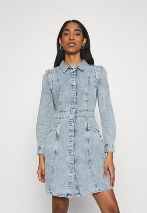 VMASTA DENIM DRESS - Spijkerjurk - light blue denim