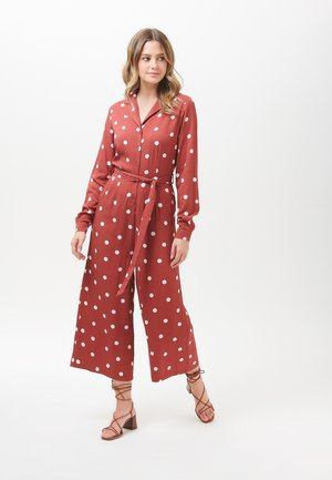 ANASTASIA POLKA - Jumpsuit - brown