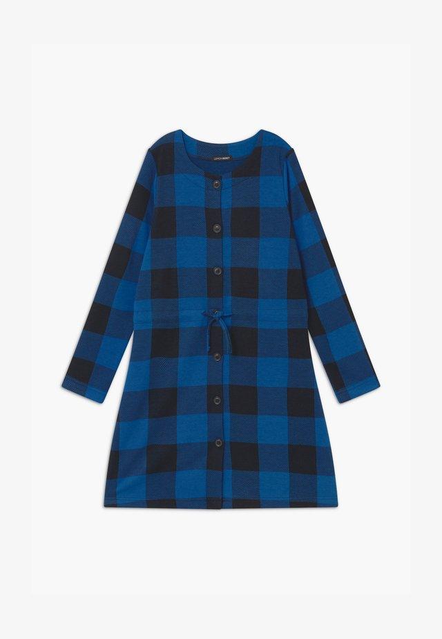 TEEN GIRLS - Pletené šaty - olympian blue