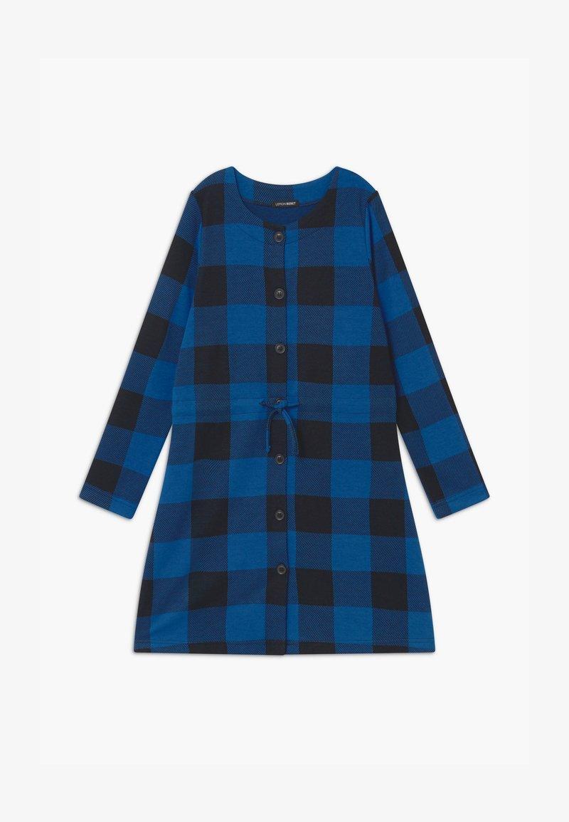 Lemon Beret - TEEN GIRLS - Pletené šaty - olympian blue