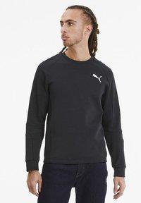 Puma - EVOSTRIPE - Sweatshirt - puma black - 0