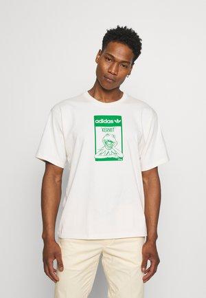 TEE KERMIT UNISEX - T-shirt imprimé - off-white