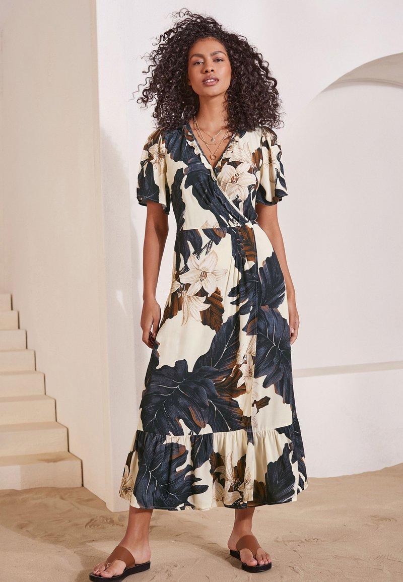 Next - Długa sukienka - off-white