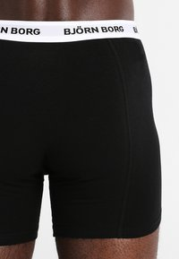 Björn Borg - SHORTS CONTRAST SOLIDS 3 PACK - Underkläder - black - 2
