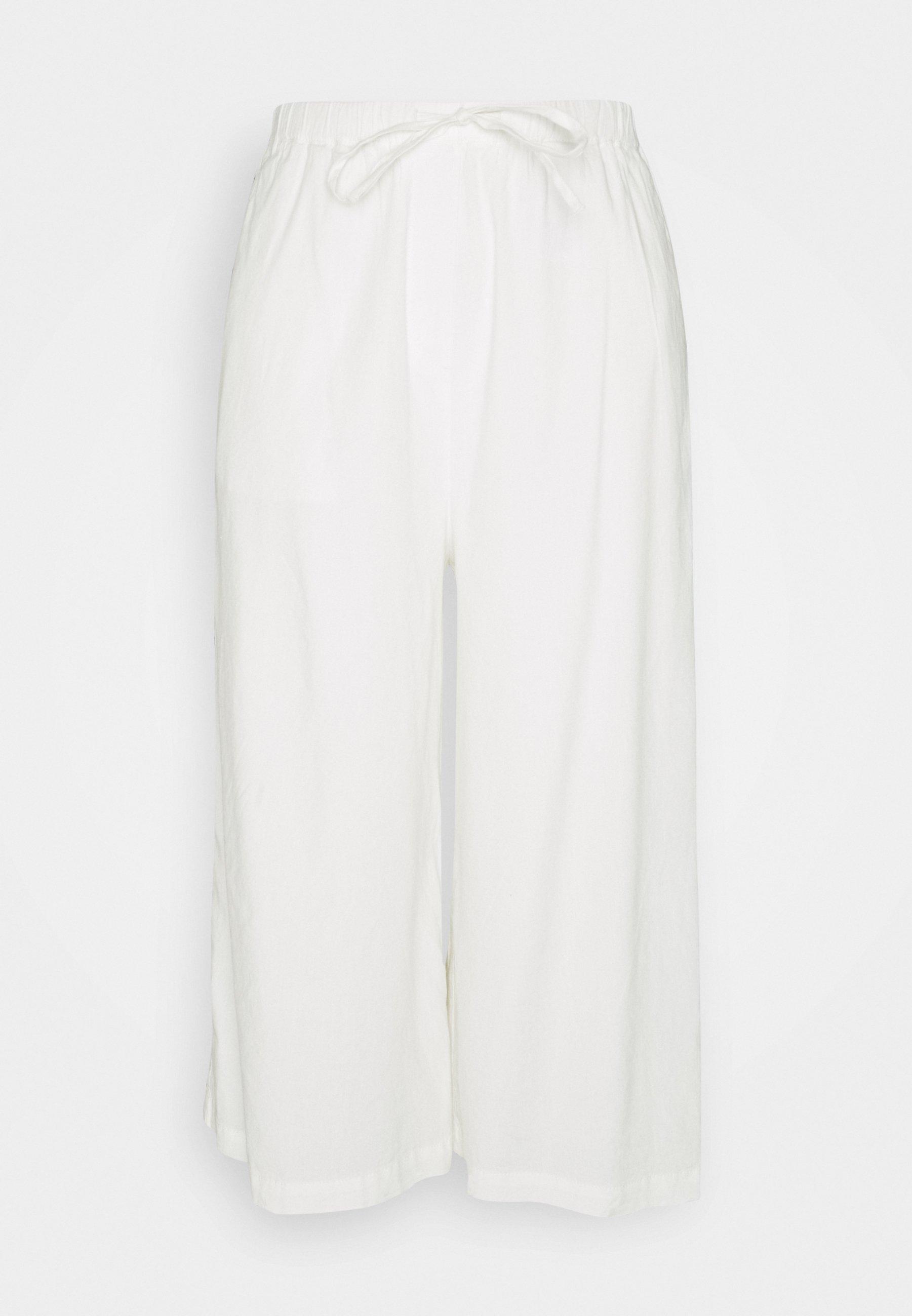 Mujer PANTS CULOTTE STYLE WIDE LEG DETAILED WAISTBAND - Pantalones