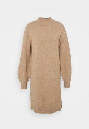 Jumper dress - beige mélange