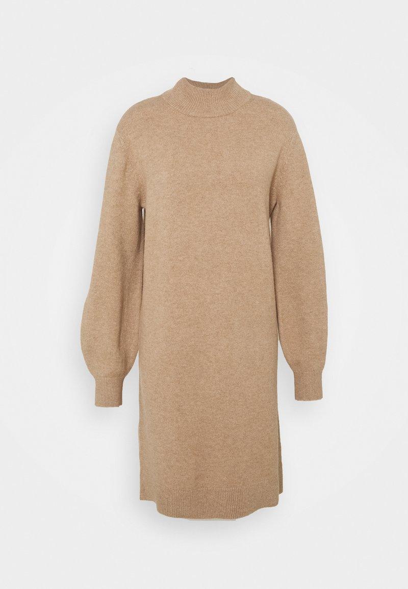 s.Oliver - Jumper dress - beige mélange