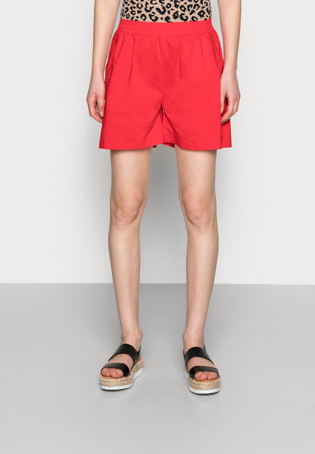 ELLEN SHORTS - Shorts - red