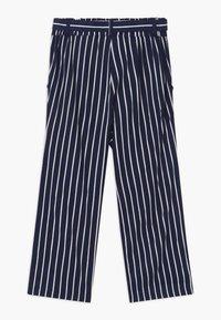 Blue Seven - TEEN GIRL STRIPE - Kalhoty - dark blue - 1
