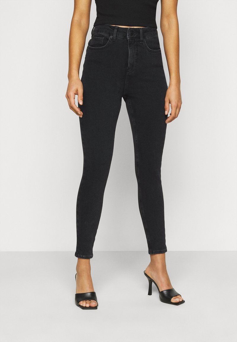 New Look Petite - CONTOUR - Jeans Skinny Fit - black