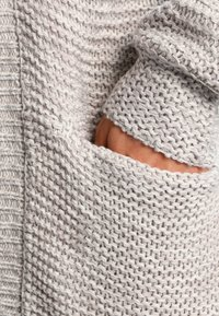 Vero Moda - VMNO NAME - Cardigan - light grey melange - 4