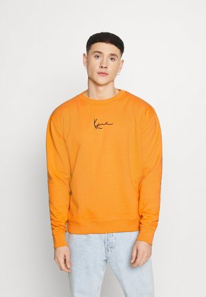 SMALL SIGNATURE CREW - Sweater - orange
