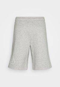 Fila - JARED SHORTS - Sportovní kraťasy - light grey melange - 6