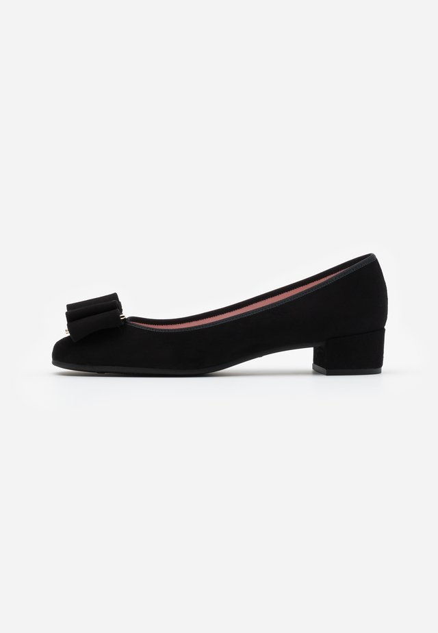 ANGELIS - Ballerines - black