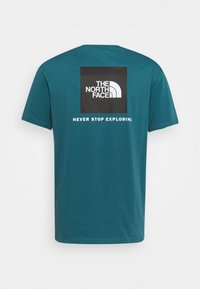 The North Face - MEN´S TEE - T-shirt med print - teal - 1
