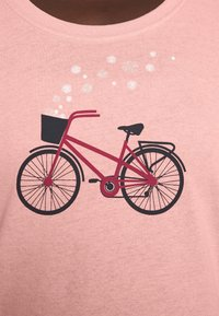 Vaude - WOMEN'S CYCLIST - T-shirt con stampa - soft rose - 4