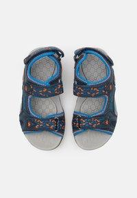 LICO - GOMERA  - Walking sandals - marine/blau/orange - 3