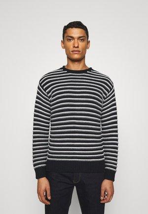 Sweter - navy riga