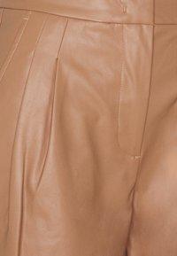 DESIGNERS REMIX - MARIE PLEAT PANTS - Trousers - camel - 2