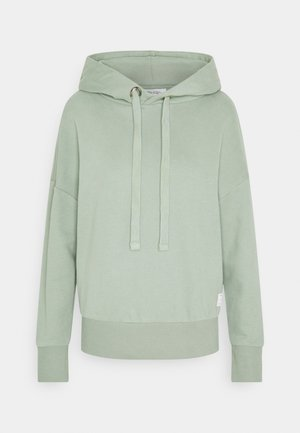 LONGSLEEVE HOODED - Mikina - washed mint