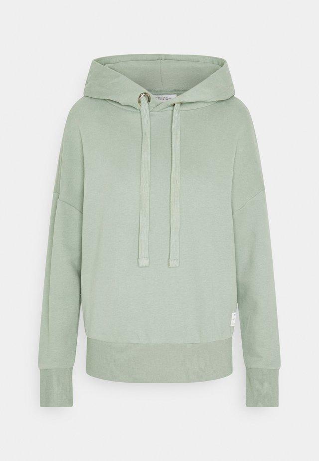 LONGSLEEVE HOODED - Sweatshirt - washed mint